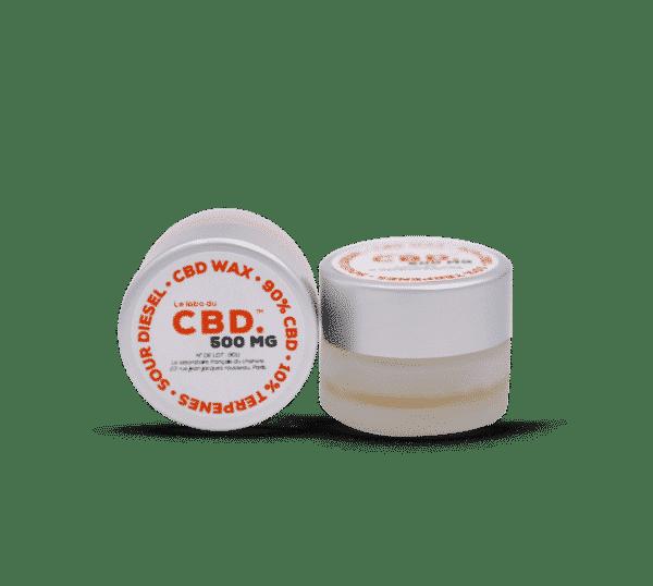 Wax CBD Sour Diesel du Labo du CBD